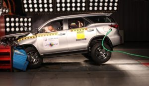 fortuner 2016 crash test